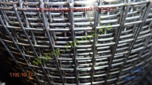 купить сварную оцинкованную сетку в рулонах